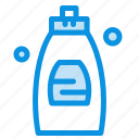bathroom, cleaning, gel, shower, soap icon