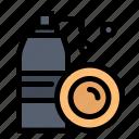 aerosol, bottle, cleaning, spray