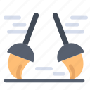 broom, clean, cleaning, sweep icon