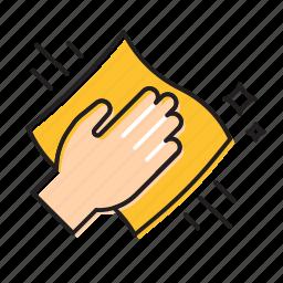 hand cleaner, hand swipe, swipe icon