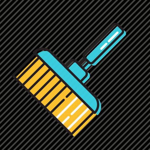 cleaning brush, swiper, window brush, window cleaner icon