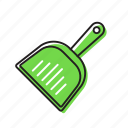 trash collector, trash picker icon
