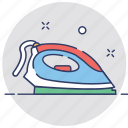 appliance, electronics, housekeeping, iron, laundry icon