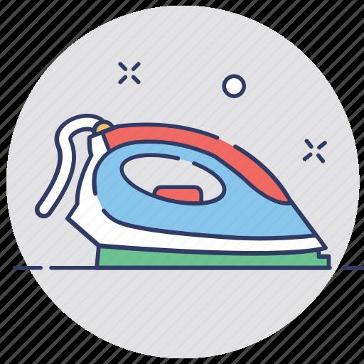 appliance, electronics, housekeeping, iron, laundry icon