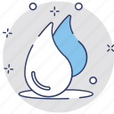 aqua, dew, drop, rain, water icon