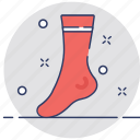 clothes, clothing, fashion, socks, stocking icon