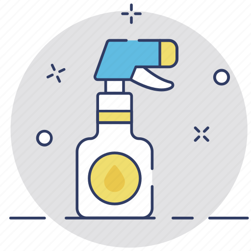barbershop, cleaning, shower bottle, spray, spray bottle icon