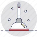 bathroom, cleaning, housekeeping, toilet, toilet pump icon