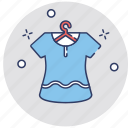 blouse, clothes, clothing, hanger, shirt icon