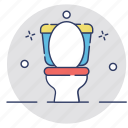 bathroom, commode, restroom, toilet, wc icon