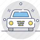 auto, automobile, car, sedan, transport icon