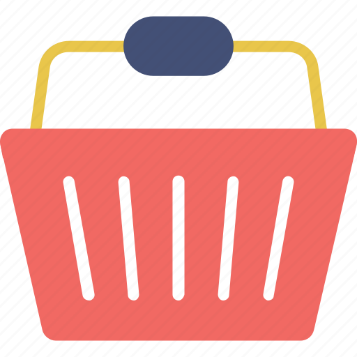 basket, buy, grocery, laundry basket, shopping icon