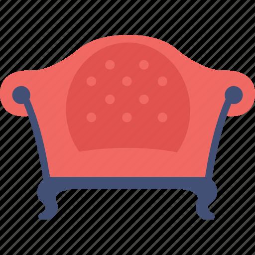 couch, furniture, interior, settee, sofa icon