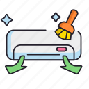 aircond, cleaning, filter icon
