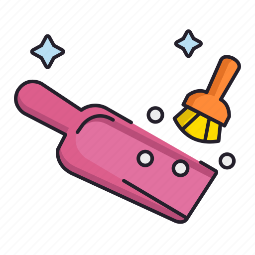 cleaning, dust, dusting icon
