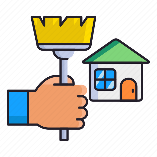 cleaning, house, housekeeping icon