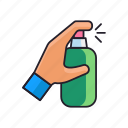can, cleaning, spray icon