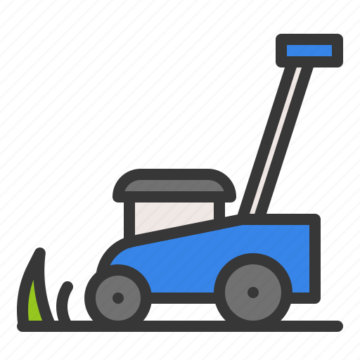 Cleaning, garden, gardening, household, lawn mower icon - Download on Iconfinder