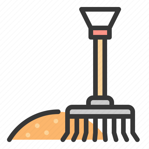 Cleaning, equipment, gardening, household, rake icon - Download on Iconfinder