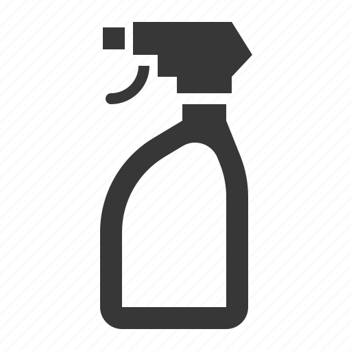 Cleaning, cleaning equipment, equipment, housekeeping, spray, spray bottle icon - Download on Iconfinder