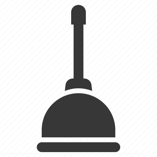 cleaning, cleaning equipment, equipment, housekeeping, plunger icon