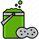 clean, cleaning, dirt, mop, sponge, sponge mop, wash icon