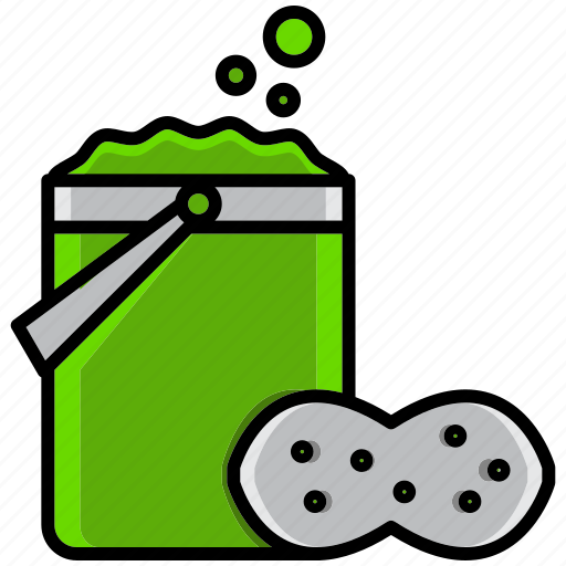 clean, cleaning, dirt, mop, sponge, sponge mop, wash icon