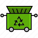 clean, cleaning, dirt, take, trash, trash can, wash icon