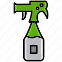 bleach, clean, cleaning, dirt, spray, wash, whitener icon