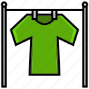 clean, cleaning, cloths, dirt, drapery, wash, weft icon