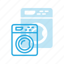 clothes, housekeeping, laundry, machine, washing icon