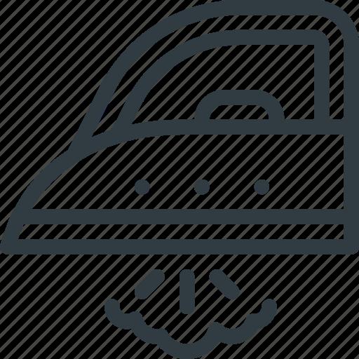 Steam Iron Icon ~ Appliance housekeeping iron steam icon search engine
