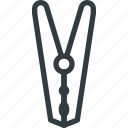 cleaning, clip, cloth, hanger, washing icon