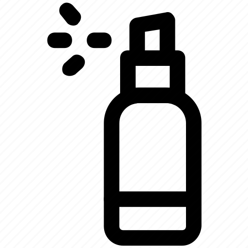 air freshener, bottle, cologne, fragrance, spray icon
