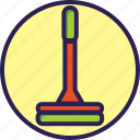 cleaning, moop, mop, set icon