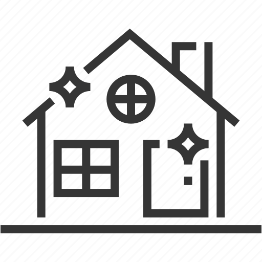 apartment, buildings, home, house cleaning, property, realm estate icon