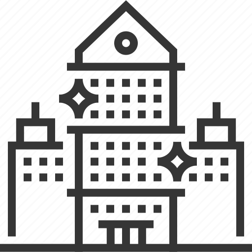 apartment, buildings, office cleaning, property, realm estate, working space icon