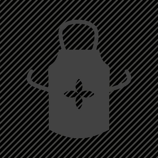 apron, bib, butcher, cooking, kitchen, protective, uniform icon