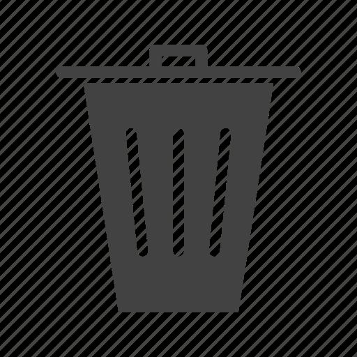 bin, garbage, office, paper, rubbish, throw, trash icon