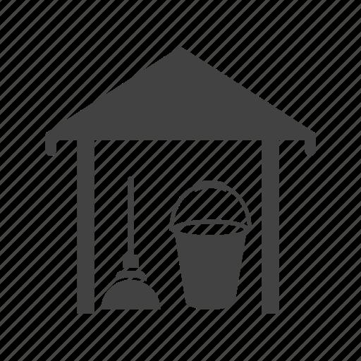 boxes, distribution, room, stock, storage, store, warehouse icon