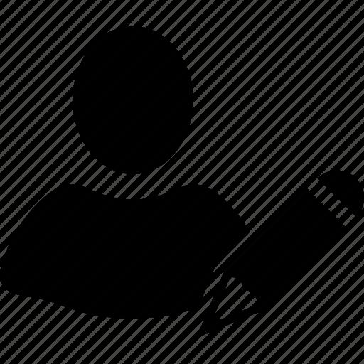 change, client profile, customer, edit, modify, person, user account icon