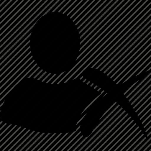 client profile, customer, delete, erase, person, remove, user account icon