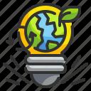 ecology, electricity, idea, invention, lamp, light, plant