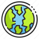 ozone, global, ecological, earth, world, layer, atmosphere icon
