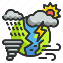 climate, season, hot, rainny, atmosphere, weather, cold icon