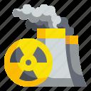 alert, hospital, nuclear, radiation, signaling icon