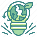 invention, lamp, ecology, light, electricity, plant, idea icon