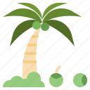 garden, rain, forest, jungle, tropical, weather, leaves icon