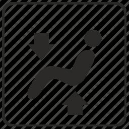 auto, back, climate, control, leg, passenger, seat icon