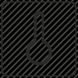 climate, control, temperature, thermometer icon